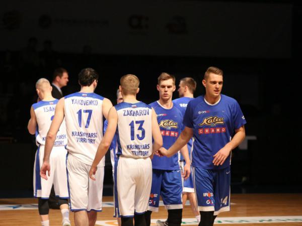"""Лига ВТБ: """"Енисей"""" - """"Калев"""" 97:90"""